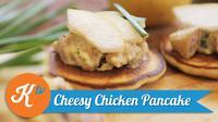 Pancake tak selalu harus disajikan dengan topping yang manis, namun Anda juga dapat membuat pancake gurih yang lezat. (Foto: Kokiku Tv)