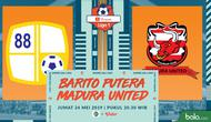 Shopee Liga 1 - Barito Putera Vs Madura United FC (Bola.com/Adreanus Titus)