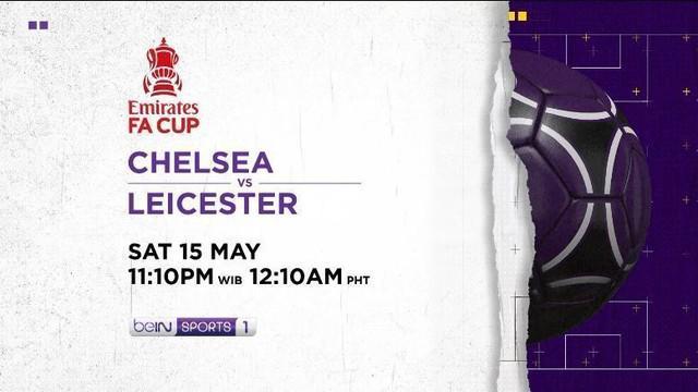 Berita video jelang partai final Piala FA antara Chelsea vs Leicester City di Vidio malam ini, Sabtu(15/5/21)