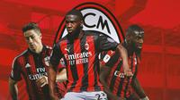 AC Milan - Fernando Torres, Fikayo Tomori, Tiemoue Bakayoko (Bola.com/Adreanus Titus)