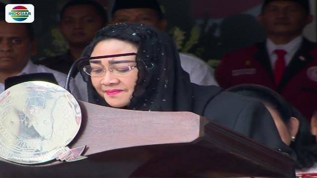 Jumat (17/8) kemarin, Rachmawati Soekarnoputri bersama Prabowo Subianto dan sejumlah tokoh lain peringati HUT ke-73 RI di Universitas Bung Karno.