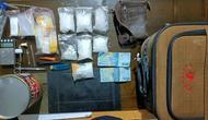 Barang bukti pengungkapan kasus narkoba di Tarakan Kalimantan Utara.