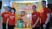 Peluncuran Snack Biskuit Kentang Canasta/Stella Maris.