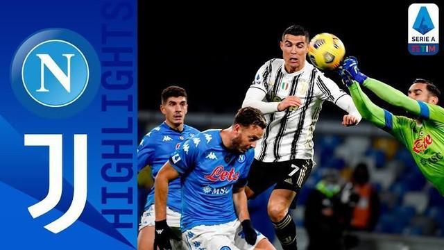 Berita video highlights laga pekan ke-22 Liga Italia 2020/2021 antara Napoli melawan Juventus yang berakhir dengan skor 1-0, di mana eksekusi penalti Lorenzo Insigne menjadi penentu kemenangan tim tuan rumah, Minggu (14/2/2021) dinihari WIB.