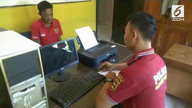 Seorang pria paruh baya menyamar jadi anggota TNI dan memperkosa gadis selama 2 minggu.
