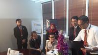 Wakil Gubernur DKI, Sandiaga Uno, melaporkan pajak tahunannya