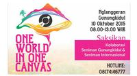One World in One Canvas - Yogyakarta
