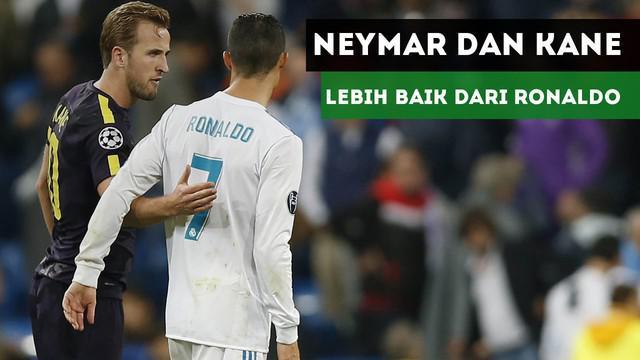 Gary Lineker menyebut Neymar dan Harry Kane lebih baik dari Cristiano Ronaldo.