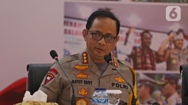 Jumpa Pers Akhir Tahun 2019 Polda Metro Jaya