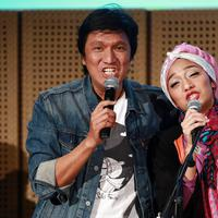 Ikang Fawzi dan Chiki Fawzi (Deki Prayoga/Bintang.com)