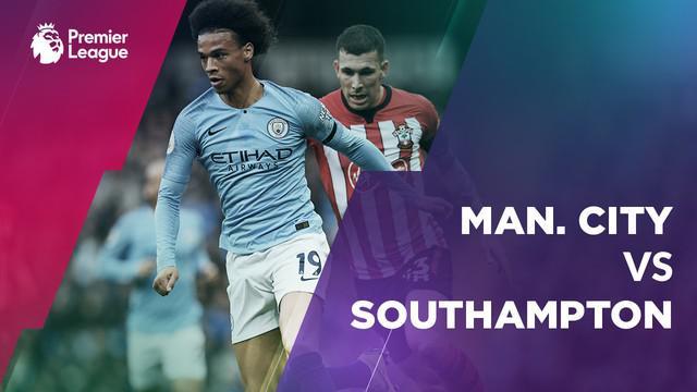 Berita video statistik laga antara Manchester City vs Southampton pada laga pekan ke-11 Premier League 2018-2019.