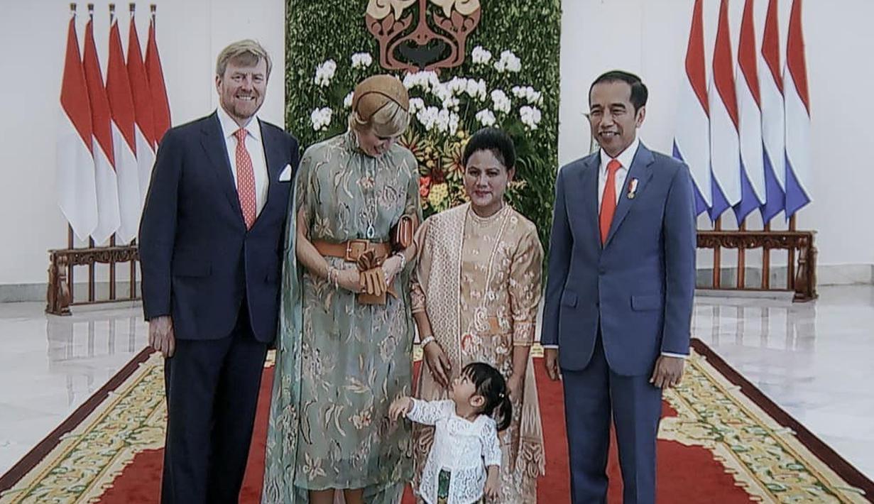 Sedah Mirah cucu Presiden Jokowi (Instagram/lalembahmanahonly)