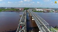 Kementerian PUPR melakukan duplikasi Jembatan Landak dan Jembatan Kapuas di Pontianak. (Dok Kementerian PUPR).