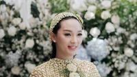 Zaskia Gotik 7 Bulanan (Instagram/rh_weddingplanner)