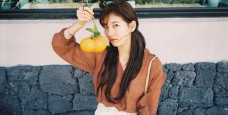 Suzy memang dikenal sebagai salah satu artis Korea Selatan yang punya hati malaikat. Baru-baru ini, ia kembali berbagi dengan sesama yang membutuhkan. (Foto: instagram.com/skuukzky)