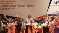 Sharing session PT Waskita Beton Precast Tbk bertajuk Gather and Be Thankful Together di Labuan Bajo, Nusa Tenggara Timur, Minggu (3/2/2019).