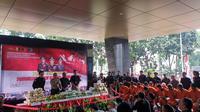 Direktorat Tindak Pidana Narkoba Bareskrim Polri Menggelar Konferensi Pers Terkait Pengungkapan Kasus Penyelendupan Sabu 50 Kilogram, Selasa (9/7/2019). (Foto: Nanda Perdana Putra/Liputan6.com)