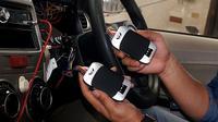 GPS Tracker Juragan GPS bisa diaplikasikan pada sepeda motor, mobil hingga truk. (istimewa)