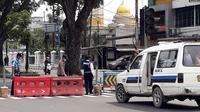 Penyekatan dalam rangka penerapan PPKM Darurat di Kota Medan