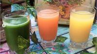 Jus Sayuran bisa untuk menurunkan berat badan. (dok.Instagram @nining_sembodo/https://www.instagram.com/p/Bte8fvzBlyr/Henry