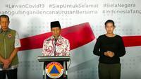 Imam Besar Masjid Istiqlal Nasaruddin Umar di Graha BNPB, Jakarta. (Istimewa)