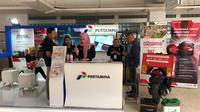 PT Pertamina (Persero) hadir di pameran motor terbesar IIMS Motobike Expo 2019 di Istora Gelora Bung Karno Senayan, Jakarta.(ist)