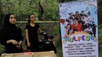 Kulon Progo Festival diselenggarakan di Bendung Kayangan pada 24 sampai 26 November 2017.