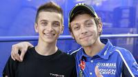 Adik Valentino Rossi, Luca Marini, dan adik Marc Marquez, Luca Marini, bakal bersaing di ajang Moto2 musim depan.
