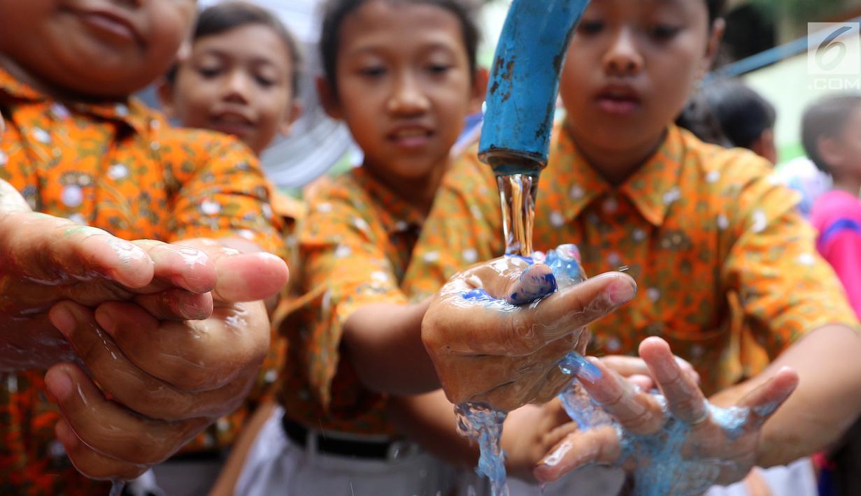 88 Gambar Anak Tk Cuci Tangan Terlihat Keren
