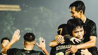 Martapura Dewa United melanjutkan tren positif di Liga 2 2021/2022 setelah mengalahkan PSKC Cimahi dengan skor 2-0, Senin (18/10/2021) malam WIB. (Instagram/@dewaunitedfc)