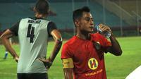 Striker Barito Putera, Samsul Arif. (Bola.com/Aditya Wany)