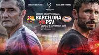 Barcelona vs PSV (Liputan6.com/Abdillah)