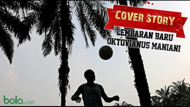 Oktovianus Maniani pesepak bola asal Papua mengisi waktu luang di tengah terhentinya kompetisi sepak bola Indonesia dengan bermain seni peran di sinetron berjudul Madun, Rabu (1/7). Lembaran baru dalam hidup Oktovianus Maniani di luar sepak bola.
