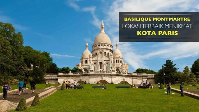 Basilique Montmartre merupakan sebuah gereja Katolik Roma berada pada titik tertinggi di kota Paris.
