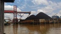 Tambang batu bara di Kalimantan (Foto: Saeroni Liputan6.com)