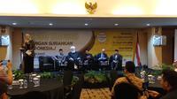 Mufti Damaskus memberi pesan agar Indonesia tak bernasib seperti Suriah. (Liputan6.com/Nafiysul Qidar)
