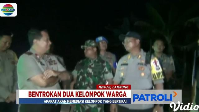 Sekitar 300 personel kepolisian dan TNI sepanjang malam hingga hari ini masih melakukan penjagaan ketat.