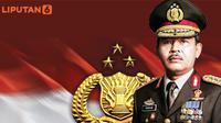 Banner Infografis Calon Kapolri Pilihan Jokowi. (Liputan6.com/Triyasni)