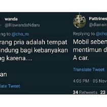 (Foto: Twitter) Twit main kata bahasa Inggris ini jadi viral karena menghibur.