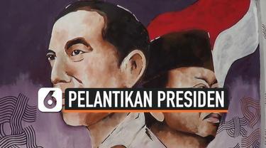 Menyambut pelantikan Presiden dan Wakil Presiden terpilih. Kampung Gremet Solo membuat mural Joko Widodo dan Ma'ruf Amin.
