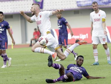 Shopee Liga 1 : Persita Tangerang Vs PSM Makassar
