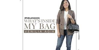 What's In My Bag Venilia Agik