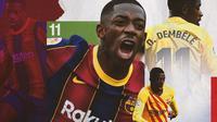 Barcelona - Ousmane Dembele (Bola.com/Adreanus Titus)