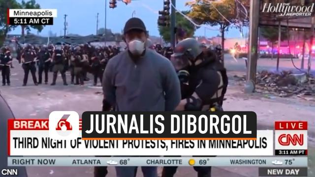 jurnalis diborgol