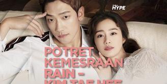 Bagaimana potret romantis Rain dan Kim Tae Hee? Yuk, kita cek video di atas!