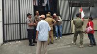Kos kotak atau sleep box di Johar Baru yang sedang ramai diperbincangkan. (Liputan6.com/Ady Anugrahadi)