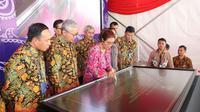 Menteri Kelautan dan Perikanan Susi Pudjiastuti meresmikan Cold Storage 1.000 ton yang merupakan salah satu prioritas pembangunan kelautan dan perikanan di Kawasan Perikanan Muara Baru, Kecamatan Penjaringan, Jakarta Utara. (Foto: KKP)