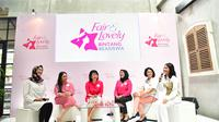 Konferensi pers Fair & Lovely Bintang Beasiswa 3. (dok. Fair & Lovely)