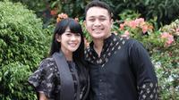 Gilang Dirga dan Adiezty Fersa [foto: instagram.com/adieztyfersa]
