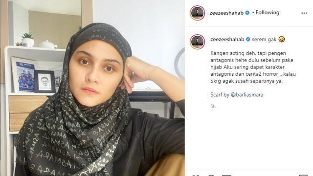 Zee Zee Shahab (Foto: Instagram/zeezeeshahab)